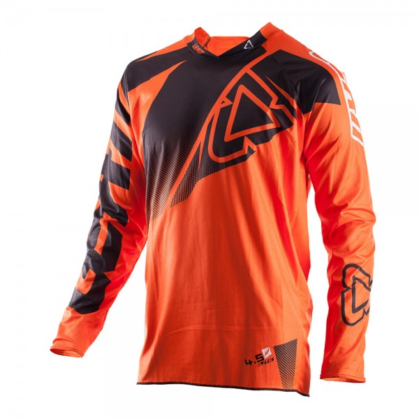 LEATT Jersey GPX 4.5 Lite (schwarz-orange)
