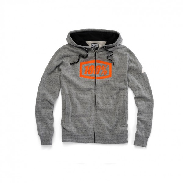 100% Zip-Hoody Syndicate, gunmetal