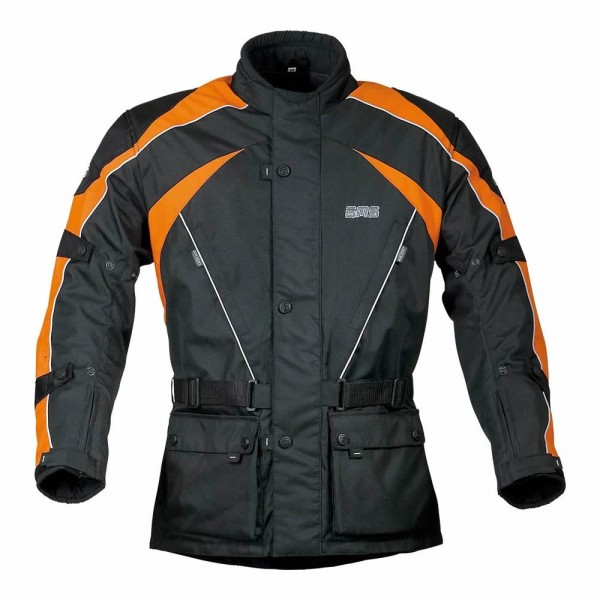 GMS Jacke Twister, schwarz-orange